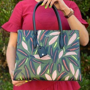 Kate Spade Eva MD Top Zip Leather Satchel Crssbody
